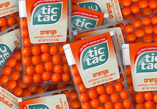 Tic Tacs for camping