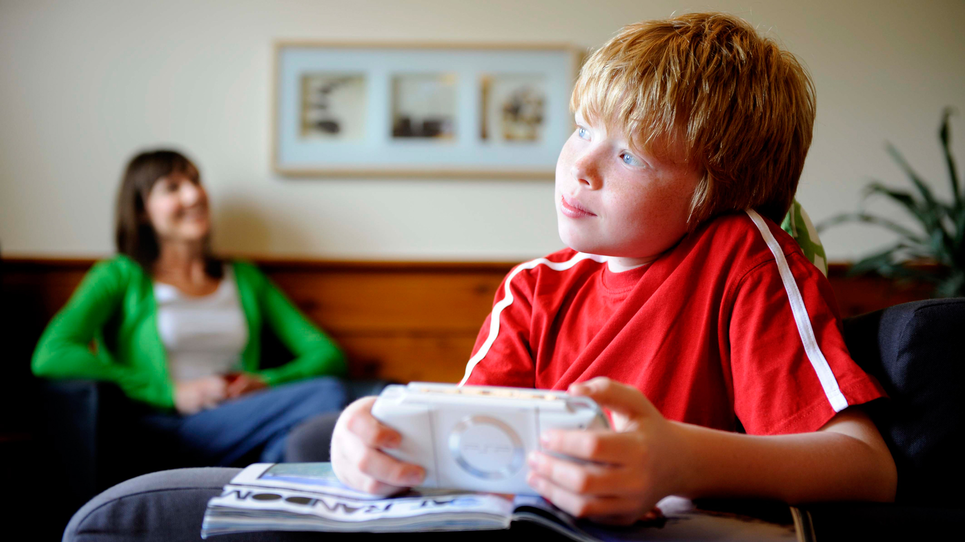 kids using technology not being active