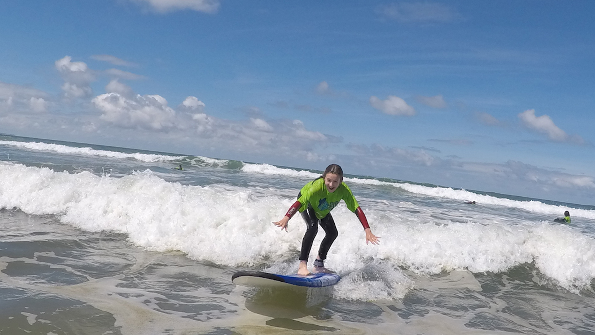 surfing lesson Woolacombe