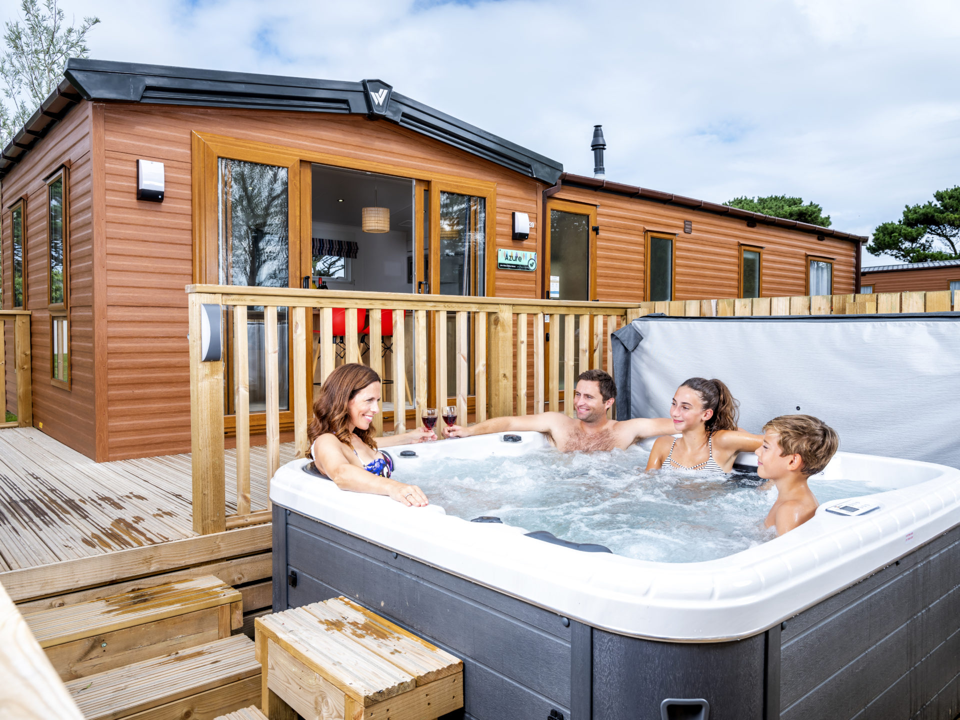 Mother's Day Hot Tub