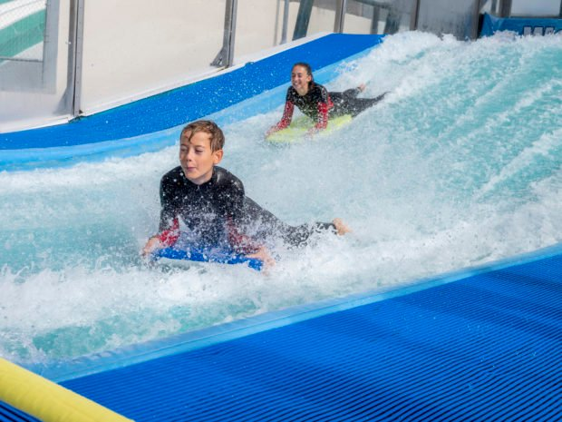 ride the woolacombe wave