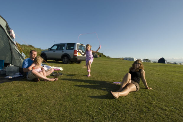 Camping in Woolacombe