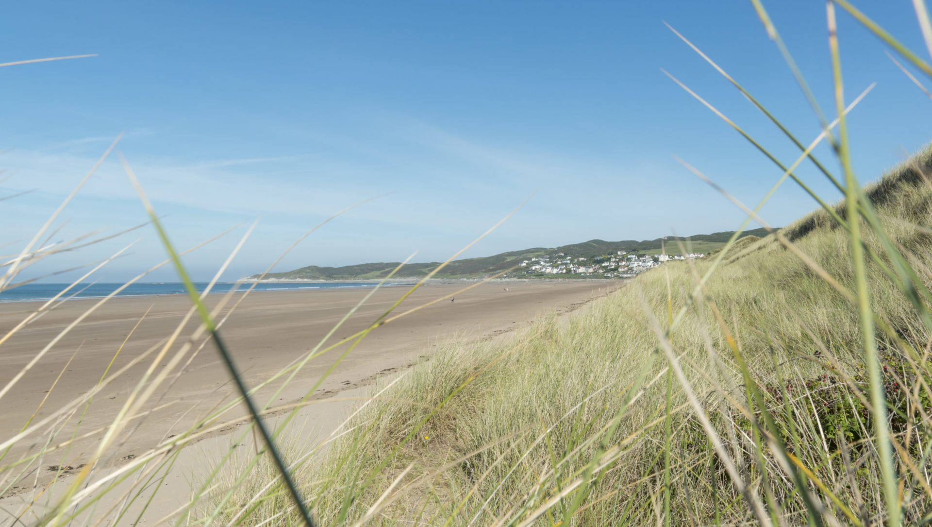 Woolacombe, visit the beach if you arrive early