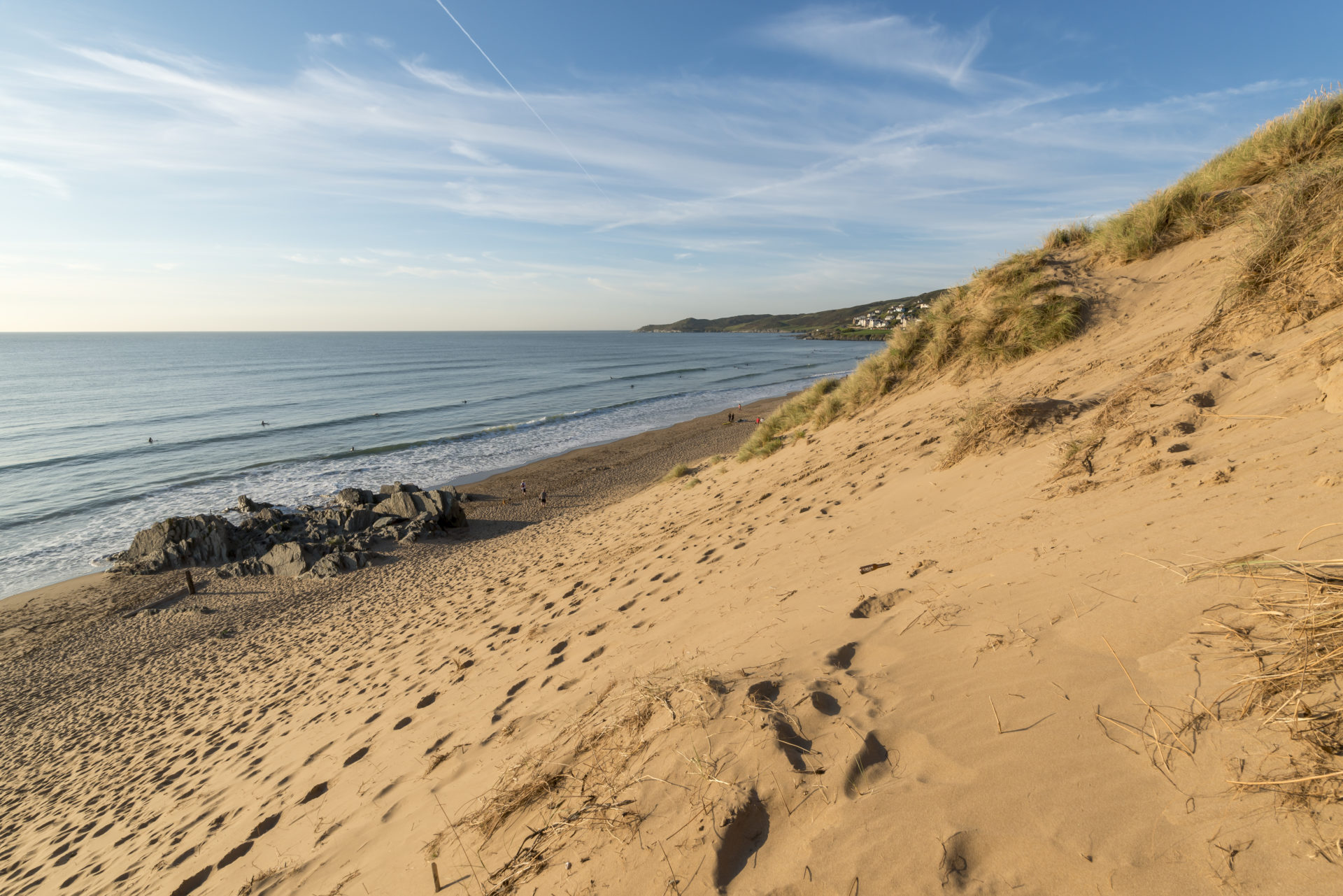 Woolacombe Beach Social Distancing