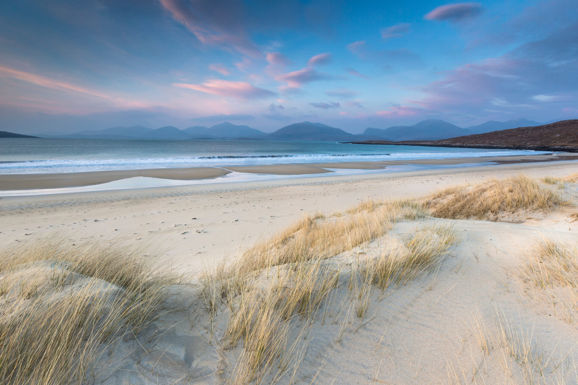 Luskentyre Beach in Scotland